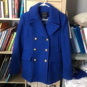 JCrew Italian Stadium Cloth pea coat